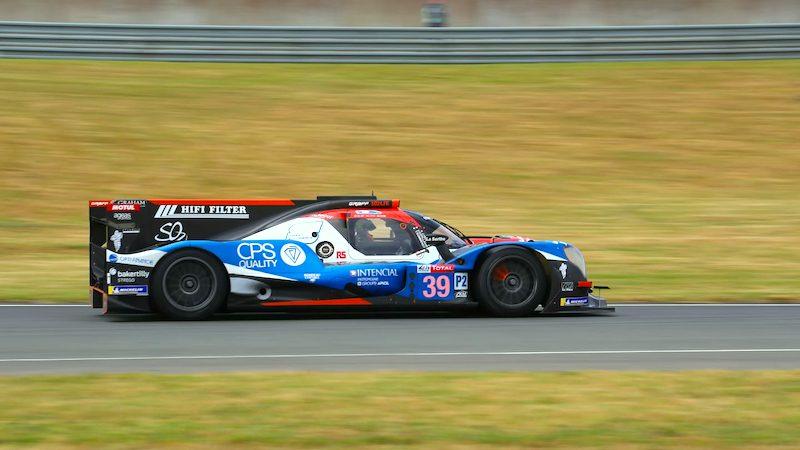 Graff SO24 startet von der LMP2-Pole ins Rennen