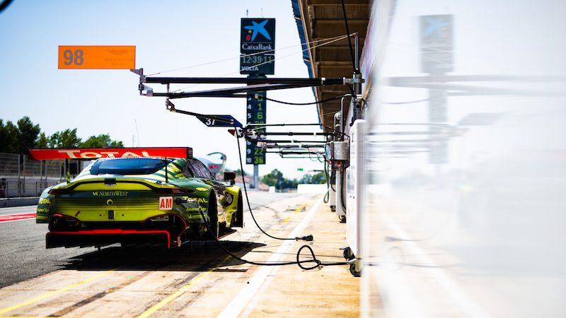 #98 ASTON MARTIN RACING / GBR / Aston Martin V8 Vantage - FIA WEC Season 8 Prologue - Circuit de Catalunya - Barcelona - Spain -