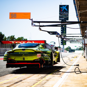 #98 ASTON MARTIN RACING / GBR / Aston Martin V8 Vantage - FIA WEC Season 8 Prologue - Circuit de Catalunya - Barcelona - Spain -