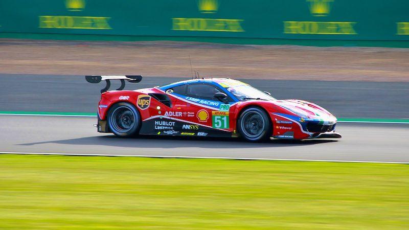Ferrari auf Pole-Position in Silverstone