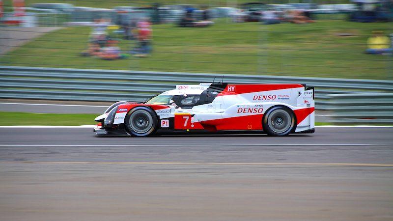Toyota auf Pole-Position in Silverstone