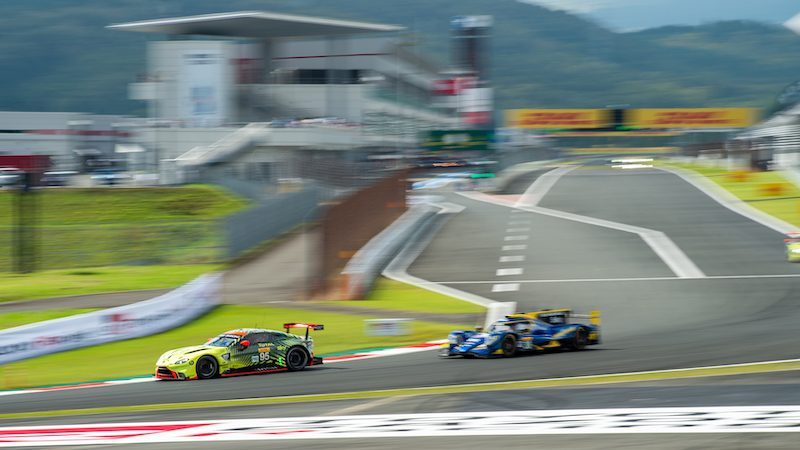 #95 ASTON MARTIN RACING / GBR / Aston Martin Vantage AMR -- 6 Hours of Fuji - Fuji International Speedway - Oyama - Japan