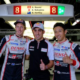 #8 TOYOTA GAZOO RACING / JPN / Toyota TS050 - Hybrid - Hybrid / Sebastien Buemi (CHE) / Brendon Hartley (NZL) / Kazuki Nakajima (JPN) -- 6 Hours of Fuji - Fuji International Speedway - Oyama - Japan