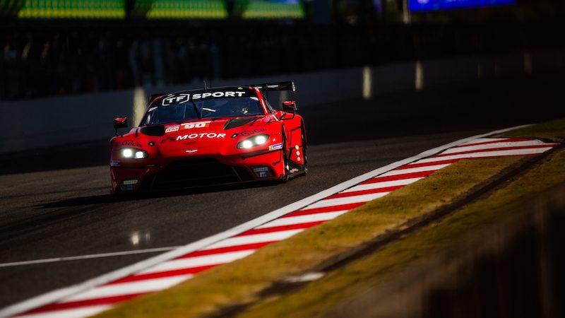 #90 TF SPORT / GBR / Aston Martin V8 Vantage -- 4 Hours of Shanghai - Shanghai International Circuit - Shanghai - China