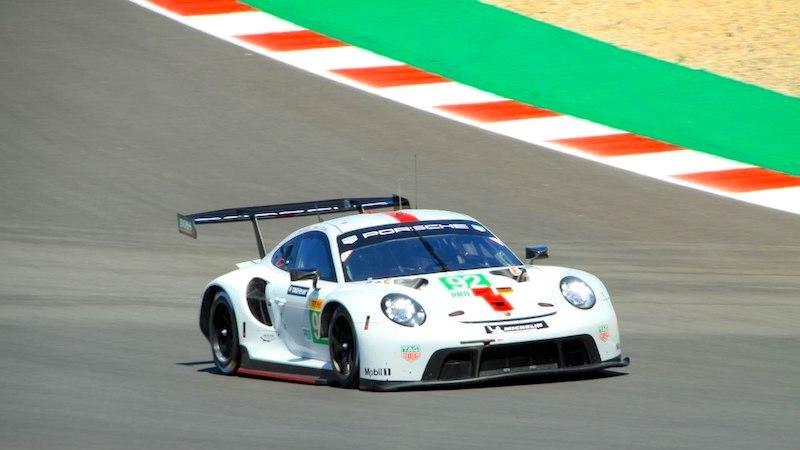 Porsche mit Poleposition