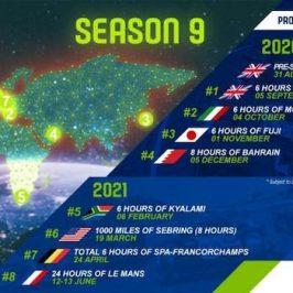 Der WEC-Kalender für 2020/2021