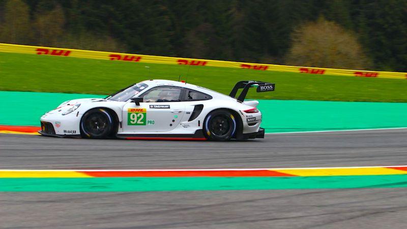 Porsche holte die Poleposition in der LMGTE-Pro