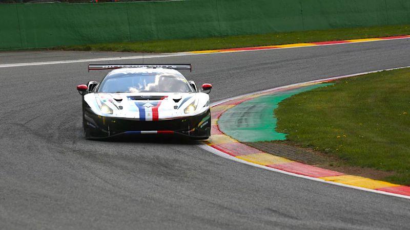 Der AF Corse Ferrari mit Sieg in der LMGTE-AM