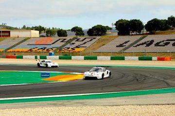 Porsche im dritten Portimão-Training
