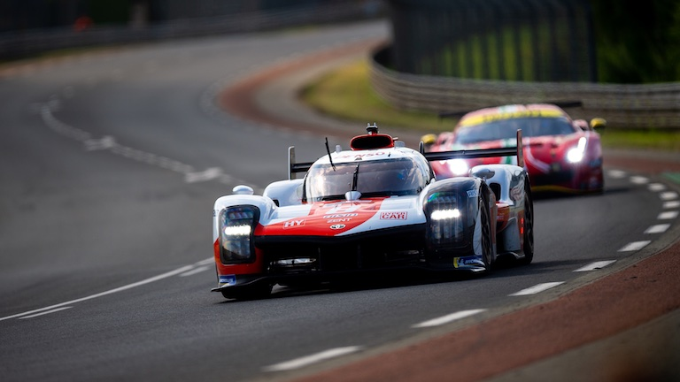 Toyota holte die Pole in Le Mans