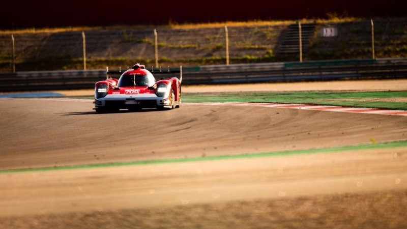 Glickenhaus Racing beim Testtag in Le Mans