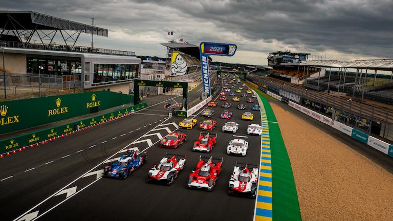 Das Feld der 24 Stunden von Le Mans