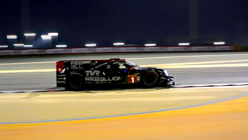 Trainingsbestzeit für Rebellion Racing in Bahrain