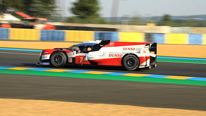 Toyota beim Qualifying in Le Mans