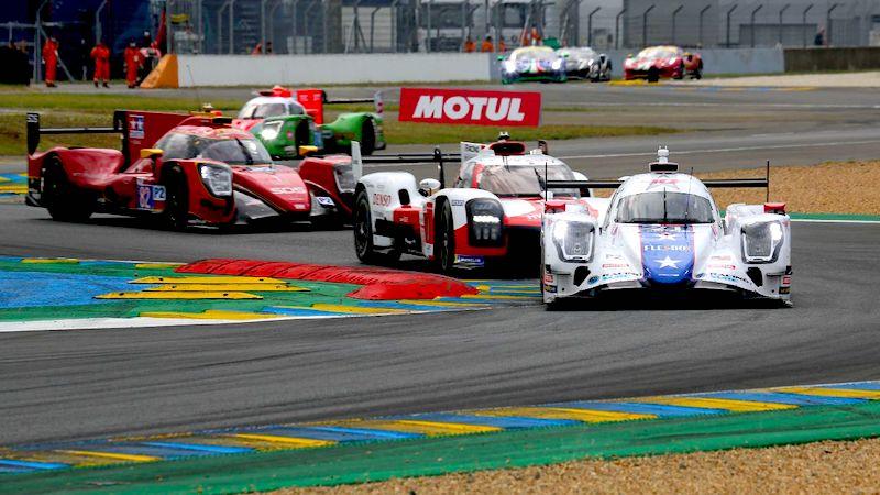 Die letzte Phase in den 24 Stunden von Le Mans