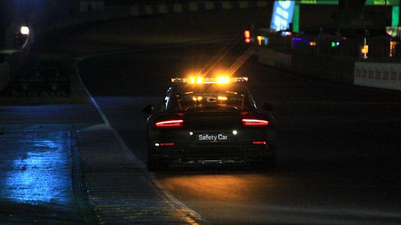Das Safety Car in der ereignisreichen Nacht