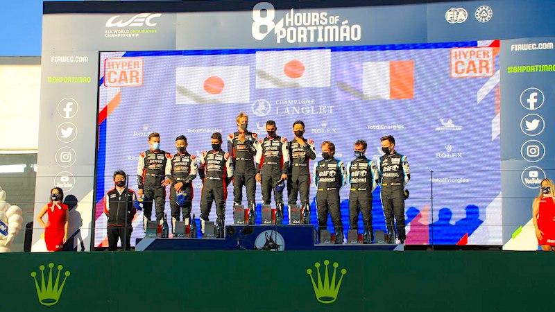 Toyota gewinnt vor Alpine in Portimão