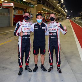 #7 TOYOTA GAZOO RACING / JPN / Toyota TS050 - Hybrid - Hybrid / Mike Conway (GBR) / Kamui Kobayashi (JPN) / Jose Maria Lopez (ARG) -- 8 hours of Bahrain - Bahrain International Circuit - Sakhir - Bahrain