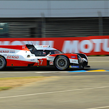 Toyota in Le Mans auf Pole-Position