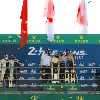Le Mans Tripel für Toyota Gazoo Racing