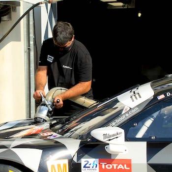 Trainingsauftakt in Le Mans