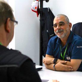 FIA WEC Renndirektor Eduardo Freitas