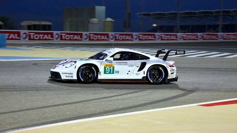 Pole für Porsche in der LMGTE-Pro in Bahrain