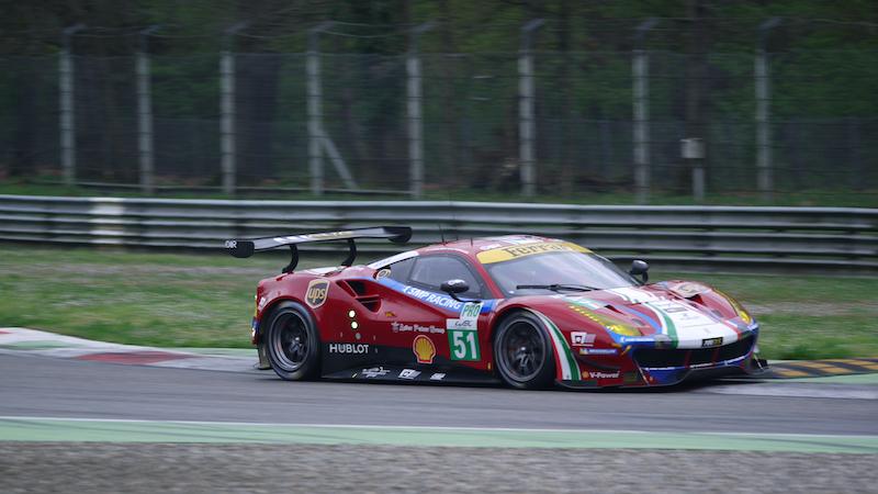 Ferrari in Monza